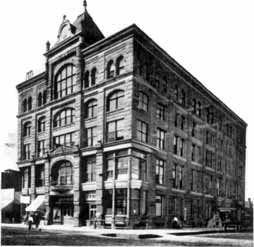 Kearney Opera House opened in 1891 and was demolished in 1954. It was located on the southwest corner of Central Ave and 21st.
