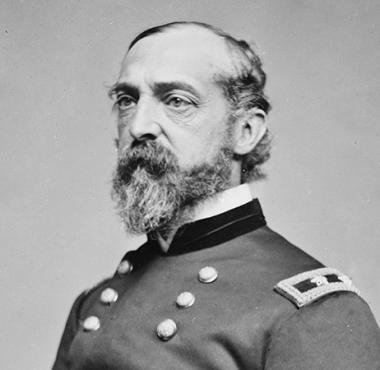 General George Gordon Meade who this historical location is named after.