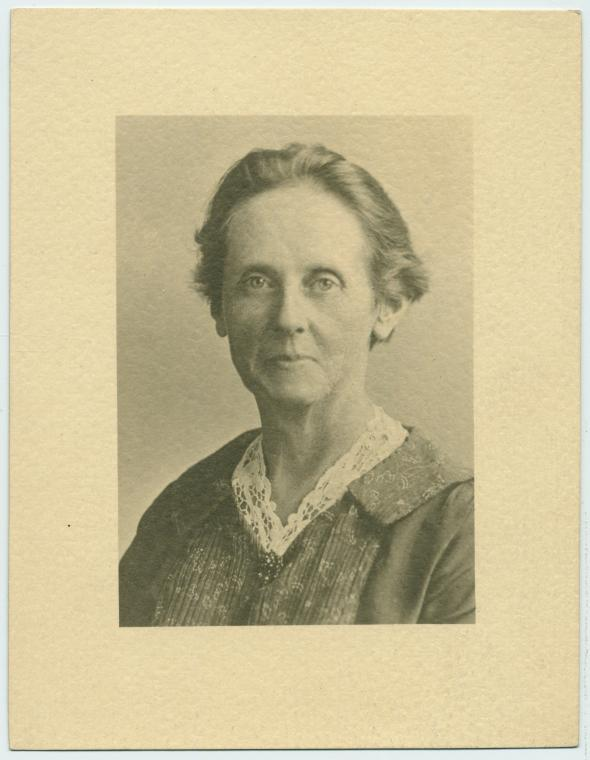 Suffragist Alice Park, whose papers are among the archives maintained by the museum. A native of California, Park campaigned relentlessly for equal rights for women, as well as improved labor laws and prison conditions.