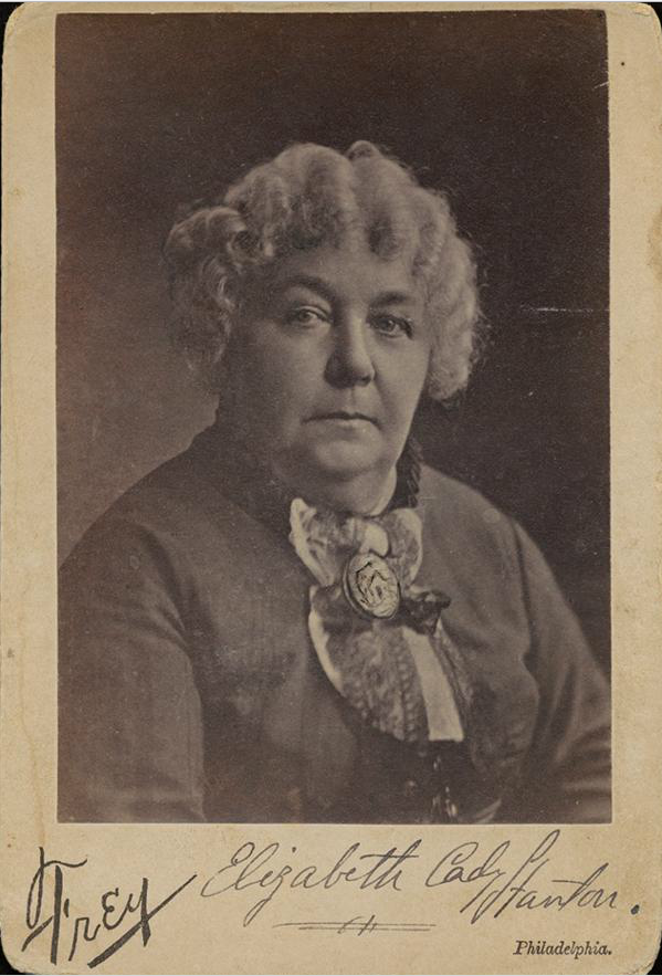 Elizabeth Cady Stanton is credited as one of the women who initiated the women's rights movement in the United States. Some correspondence and papers related to Stanton are in the Museum's archives.