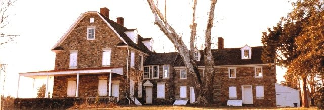 This side view reveals the true size of the 27-room Bolton Mansion.