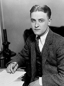 Famous author F. Scott Fitzgerald