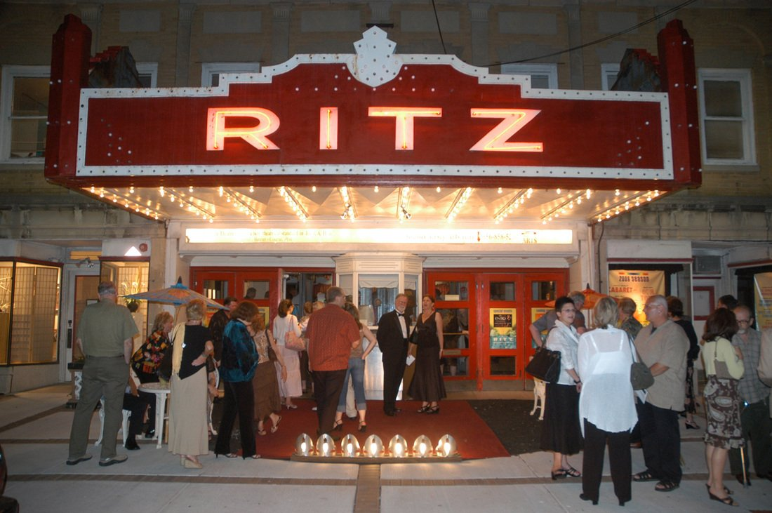 Opening night at the Ritz.