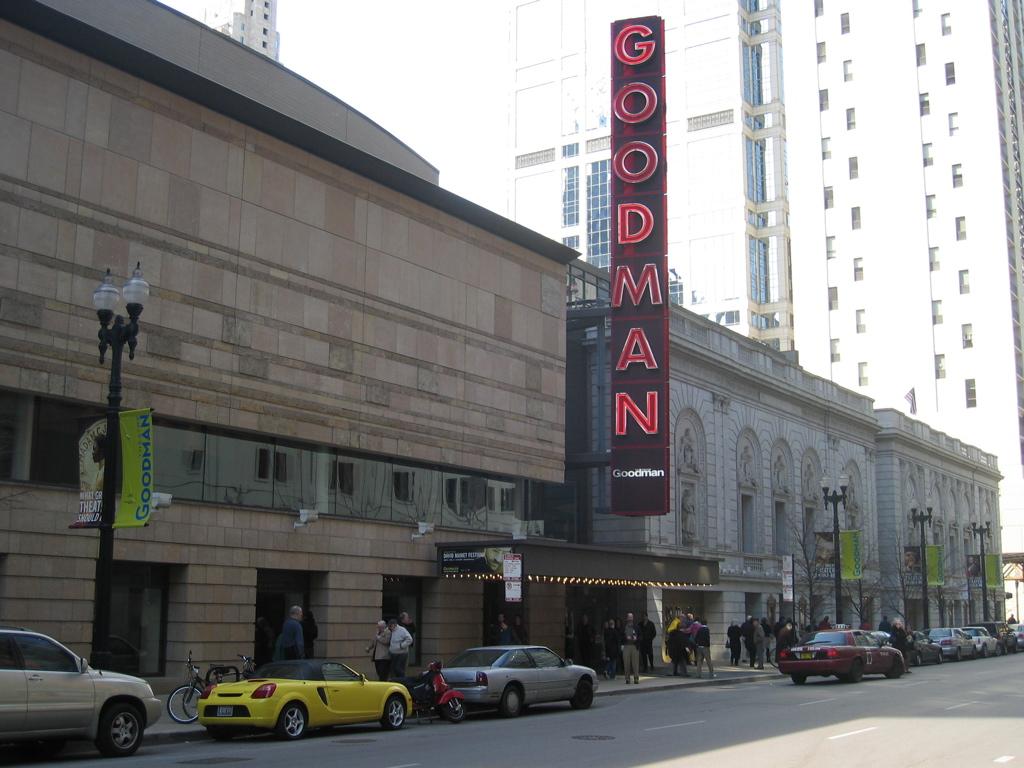 The Goodman Theatre, Chicago, Illinois. Photographed 6 April 2006. © Jeremy Atherton, 2006.