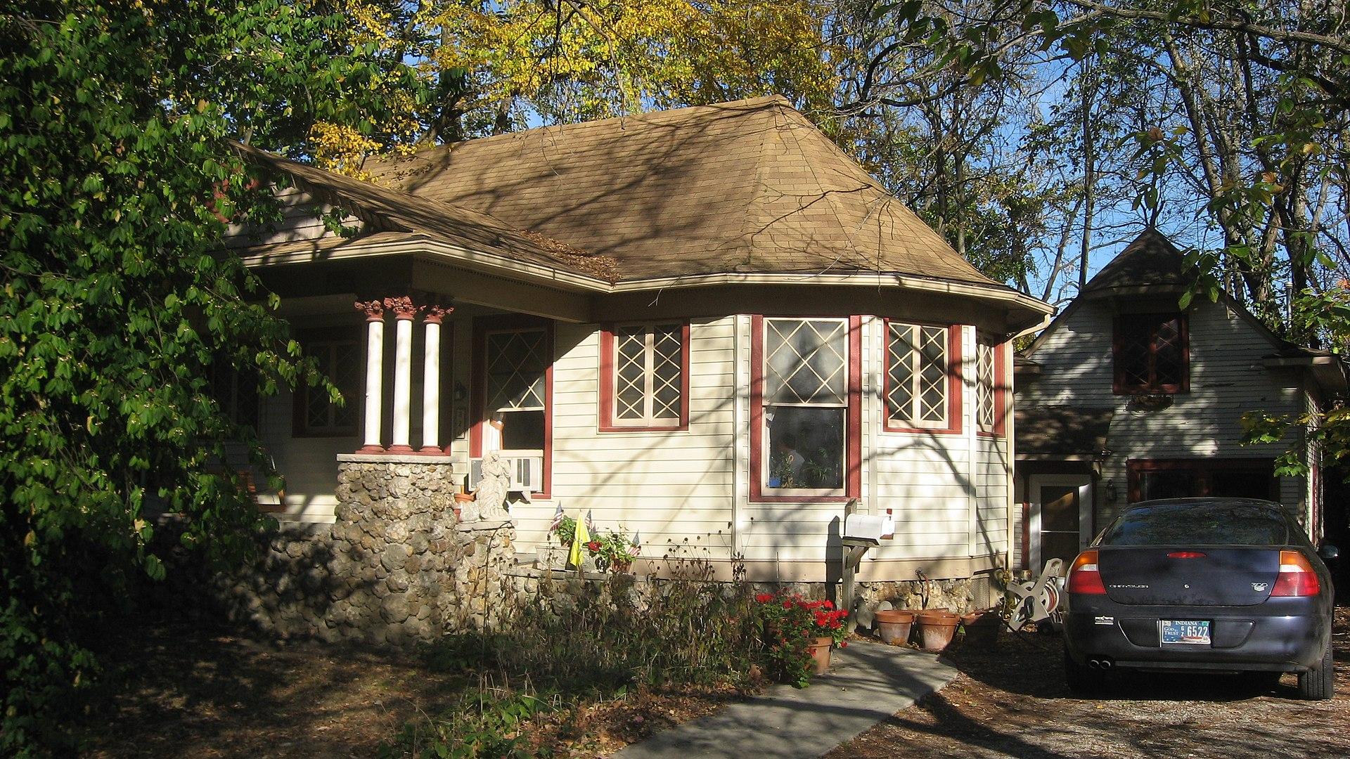 John L. Nichols House in Bloomington, Indiana