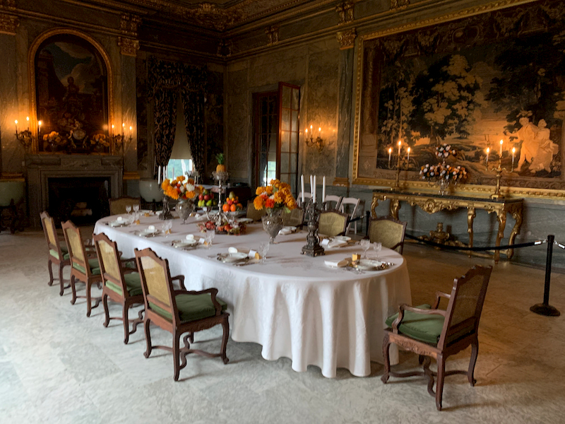 The Dining Room in Mills Mansion