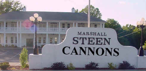 Steen Cannons sign