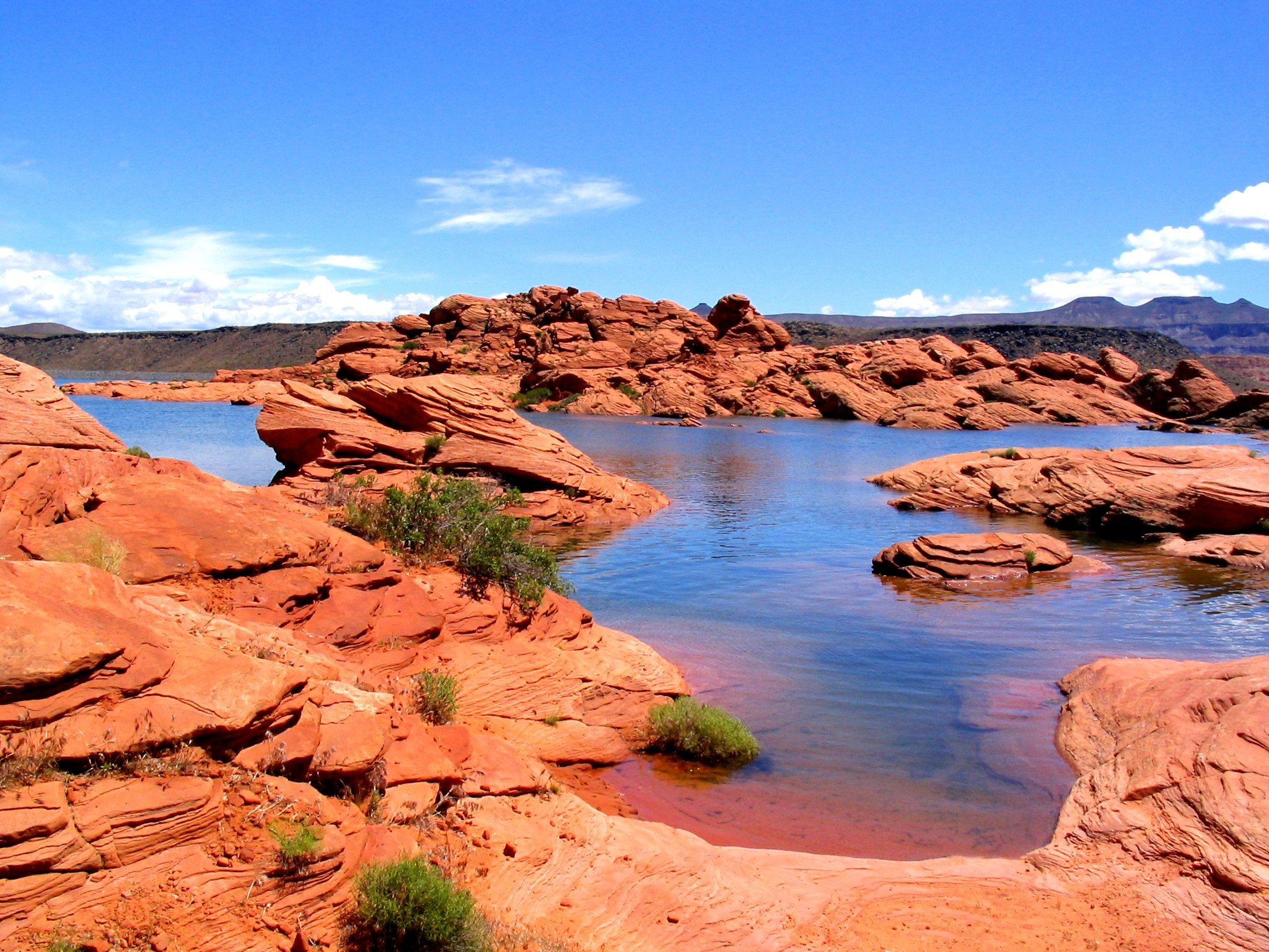 Sand Hollow State Park (obtained from Utah.gov)