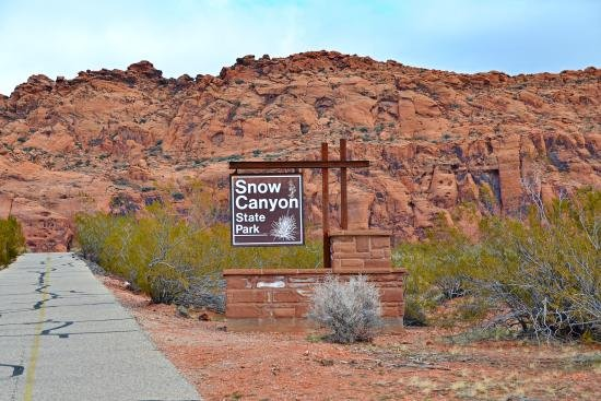 Snow Canyon State Park.