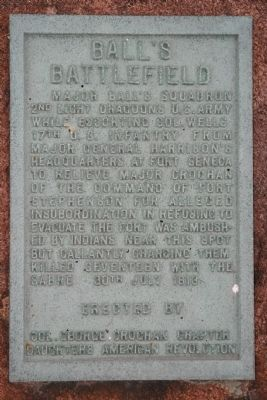 The Ball's Battlefield Marker