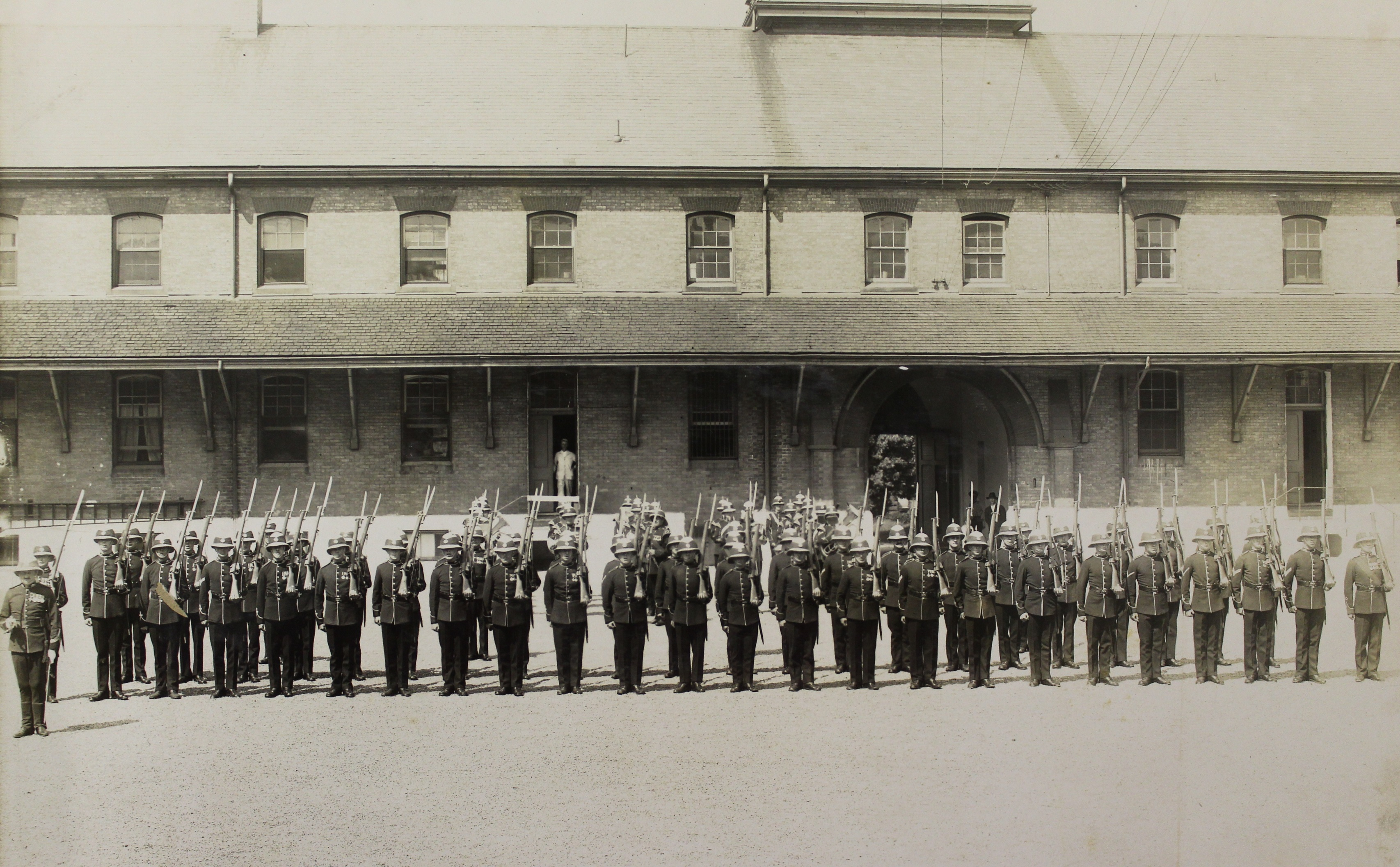 Guard of Honour for the Governor General at Wolseley Barracks, June 21, 1927