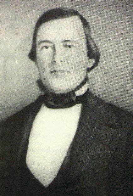 First Mayor of Sacramento, Hardin Bigelow. He received four bullet wounds during the downtown shootout and miraculously survived. Transported to Sacramento, he died there a few months later during a cholera epidemic.