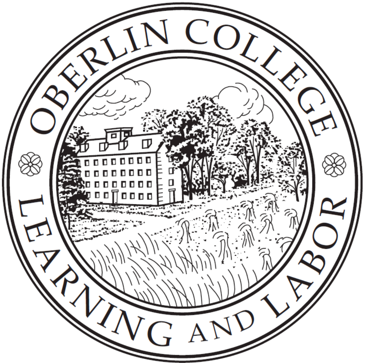 Oberlin College seal and motto