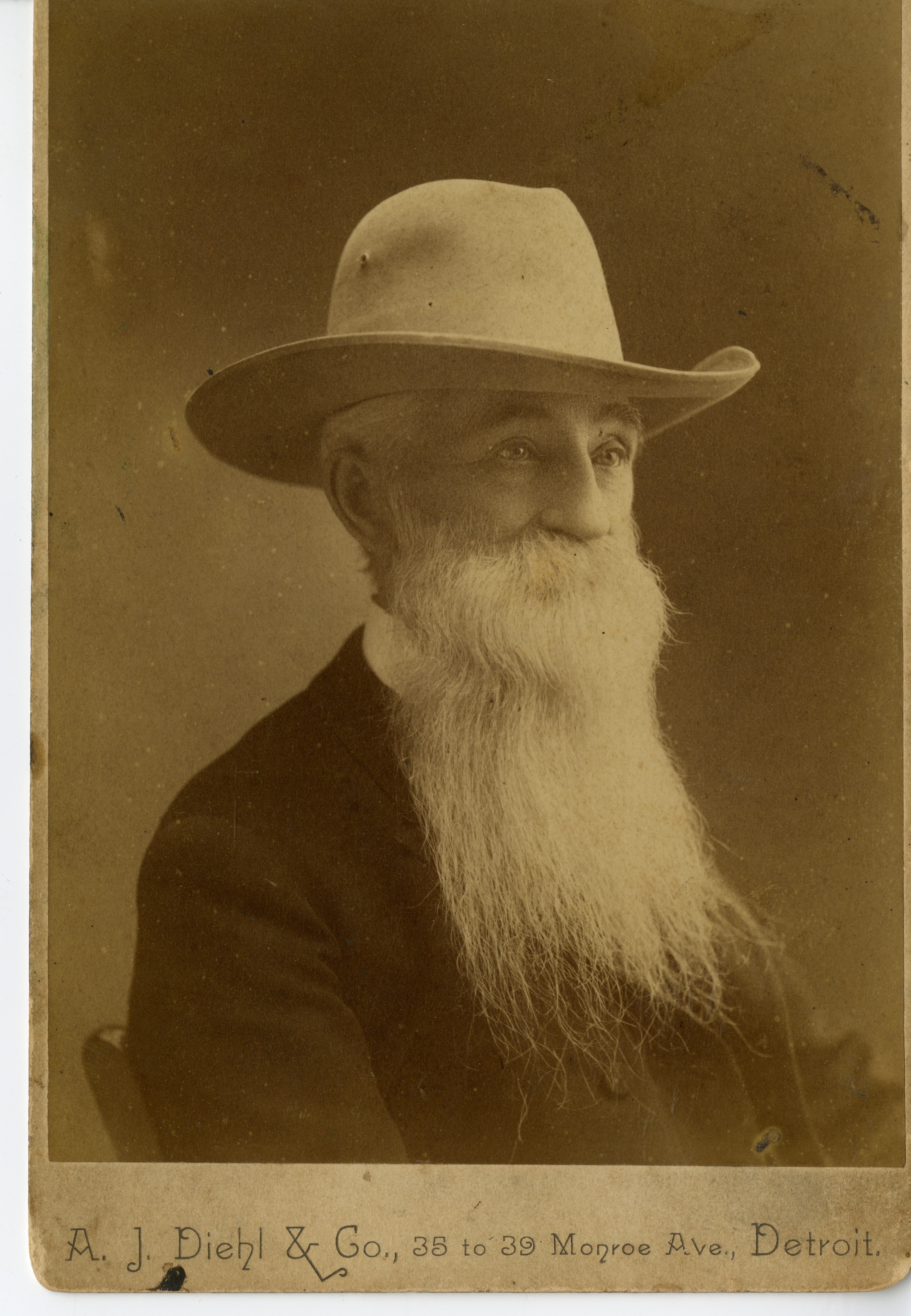 John C. Williams, circa 1890. The namesake of Williams Park in St. Petersburg, Williams and his wife Sarah Graven Judge, helped bring the Orange Belt Railroad to St. Petersburg, leading directly to the city's incorporation. John Williams passed away in 1892, after which Sarah Judge married Capt. James A. Armistead in 1894.