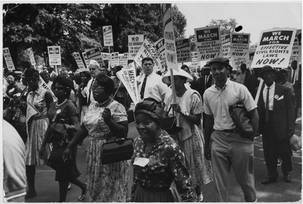 Hattiesburg civil rights march