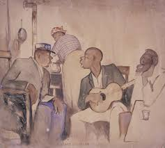 Title: Can't Sleep At Night Creator: Palmer C. Hayden Date Created: 1932 Location: Museum of African American Art, Los Angeles