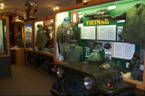 Section of the Vietnam War Display within the Minnesota Military museum