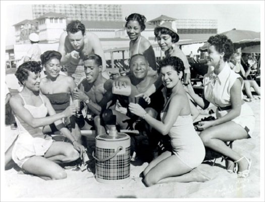 From 1900 to 1964, this was the only section of Atlantic City's beach that was open to African American families.