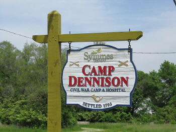 Local camp sign