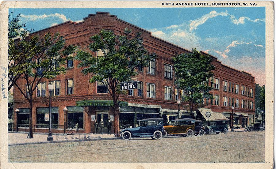 Postcard of the Fifth Avenue Hotel, circa 1910s