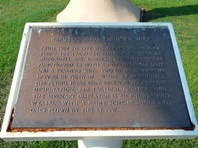 This is the marker denoted to describing the plane and it's significance.