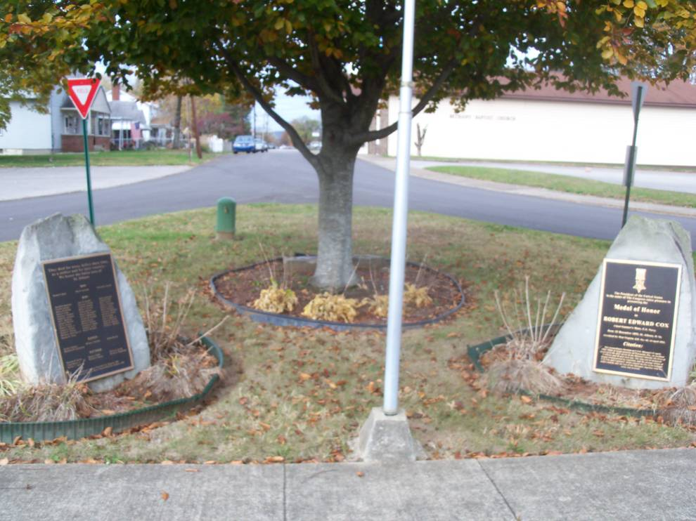 War Memorials at Ordinance Park housing site