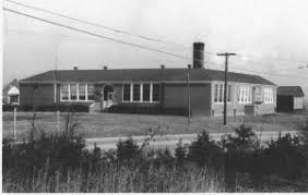 Robert Russa Moton High School constructed in 1939 in Prince Edward County, Va.