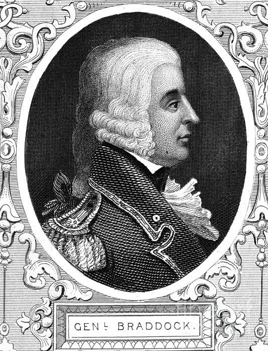 General Edward Braddock of Great Britain
