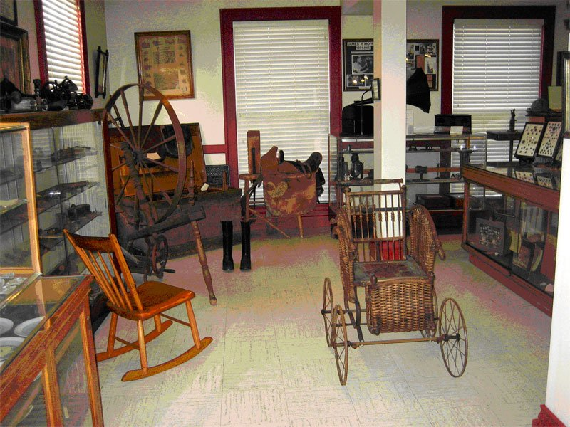 Inside the Clarke-May Museum