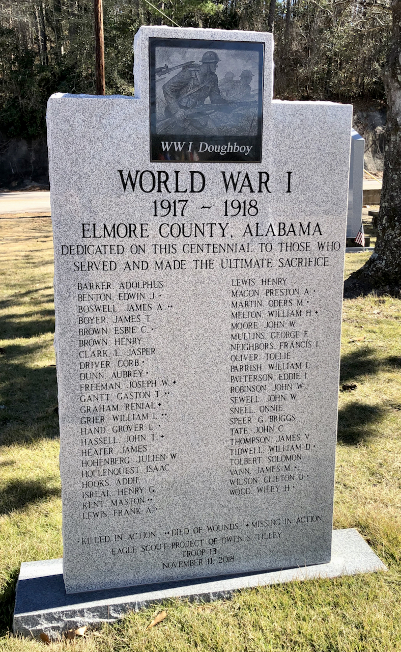 Elmore County World War I Memorial