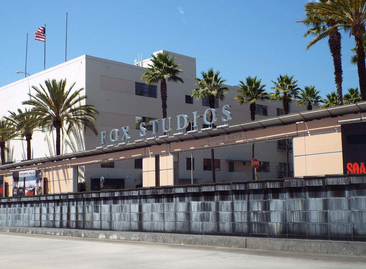 Fox Studios entrance.