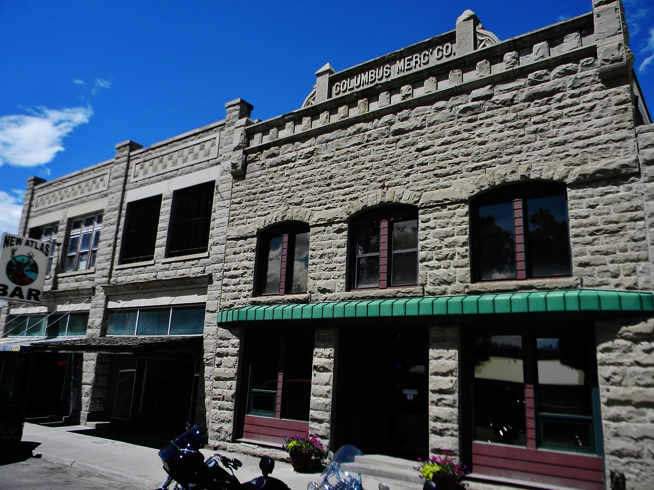 The Atlas Block Building was constructed in 1916 and remained a fixture in Columbus ever since.
