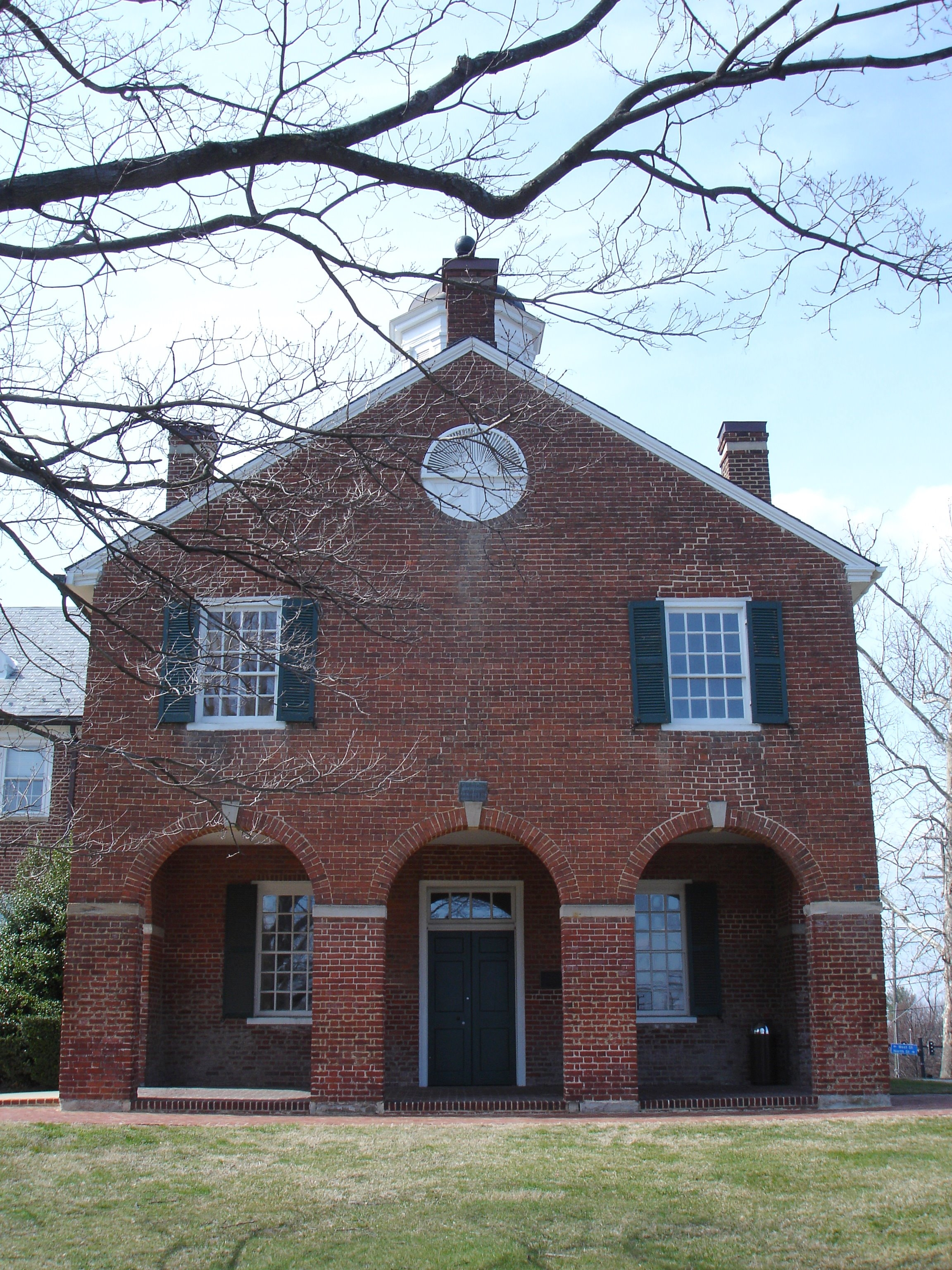 The Historic Fairfax County Courthouse