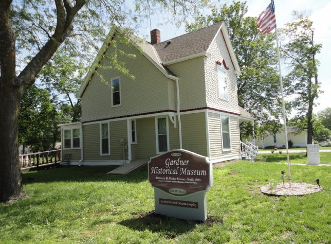 Gardner Historical Museum in the Foster House