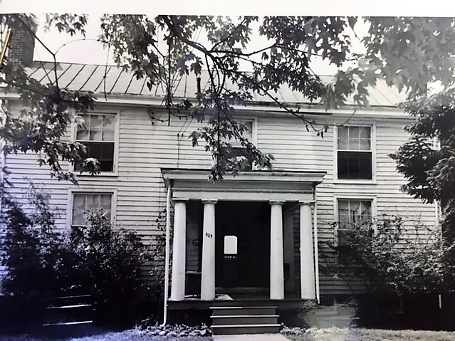 Image courtesy of Virginia Landmarks Commission on record with the City of Petersburg Department of Planning and Community Development, 1974.