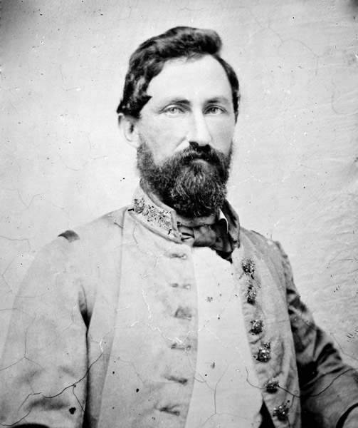 "Confederate General William Lewis Cabell, nickname d""Old Tige"" by his men"