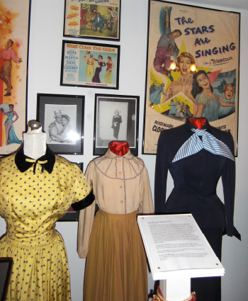 Inside the Rosemary Clooney House museum. Photo by Kathy Brown.