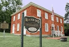 Building that houses the Woodford County Historical Society