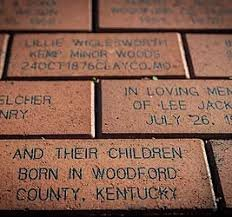 Personalized bricks to leave your mark on Kentucky