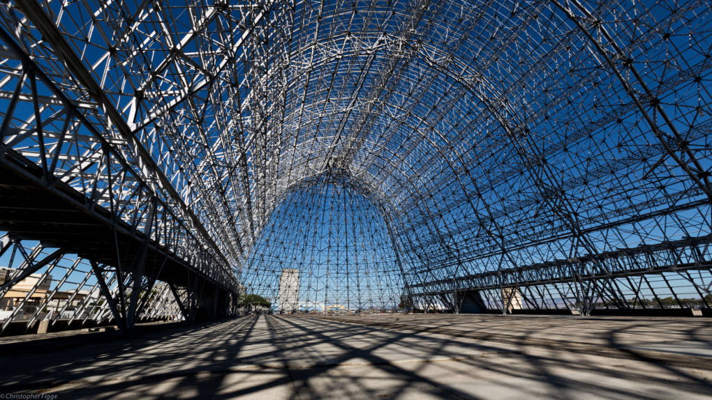 Inside of Hangar One, Today
