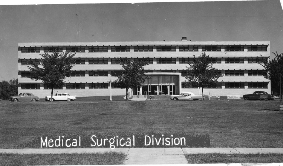 Surgical Division of the facility's medical department. Courtesy of: Adams County Historical Society