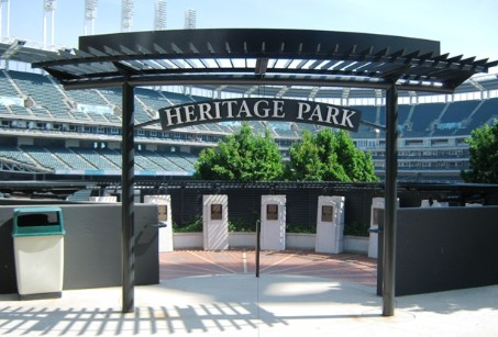 The entrance to Heritage Park.