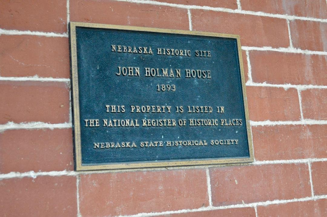 Plaque of Recognition from The Nebraska State Historical Society