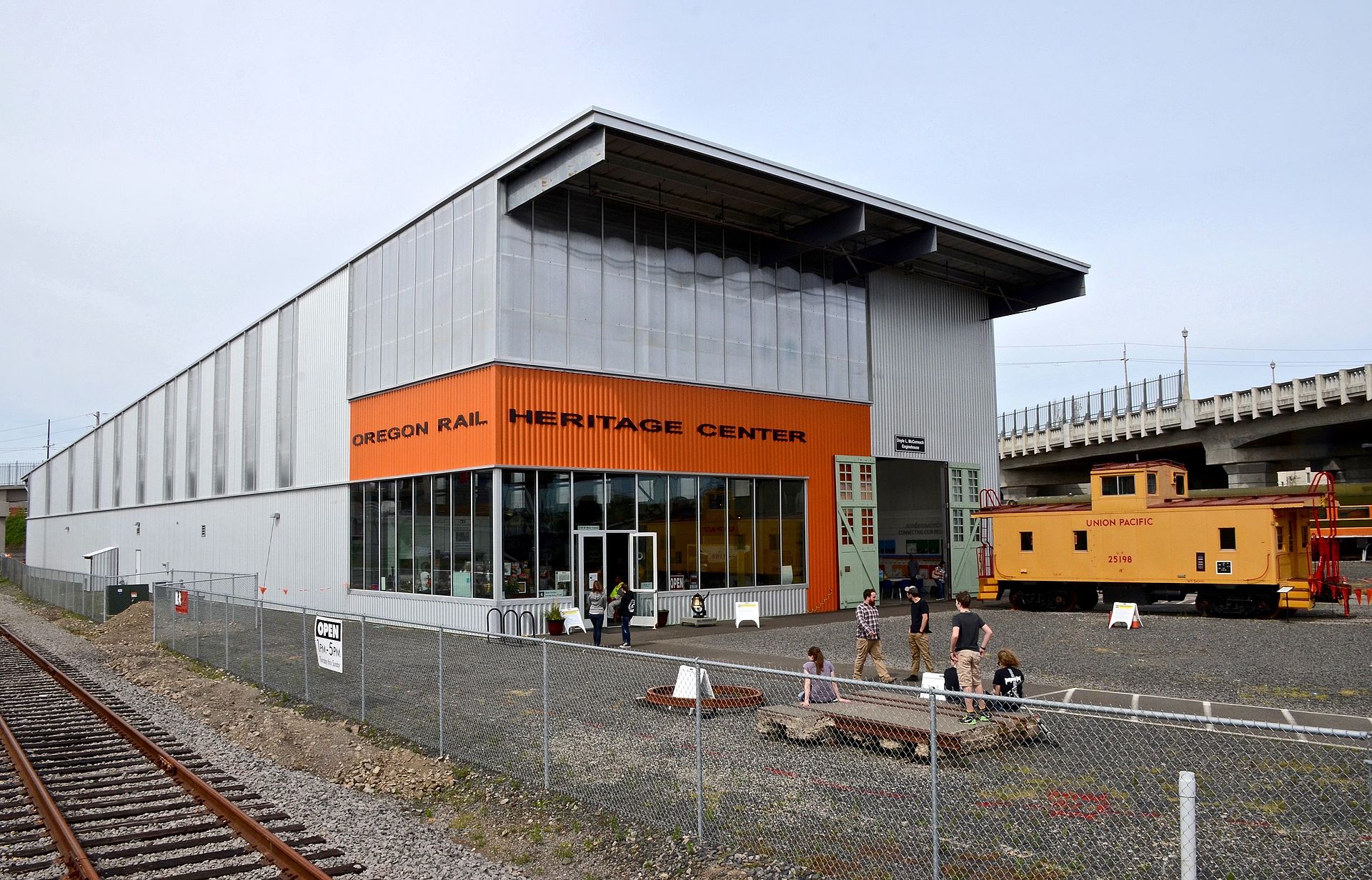 The Oregon Rail Heritage Center opened 2012 and features a number of historic rolling stock including the Southern Pacific 4449; the Spokane, Portland & Seattle 200; and the Oregon Railway & Navigation 197.