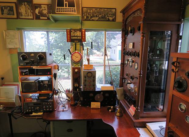 A view of the radio room today