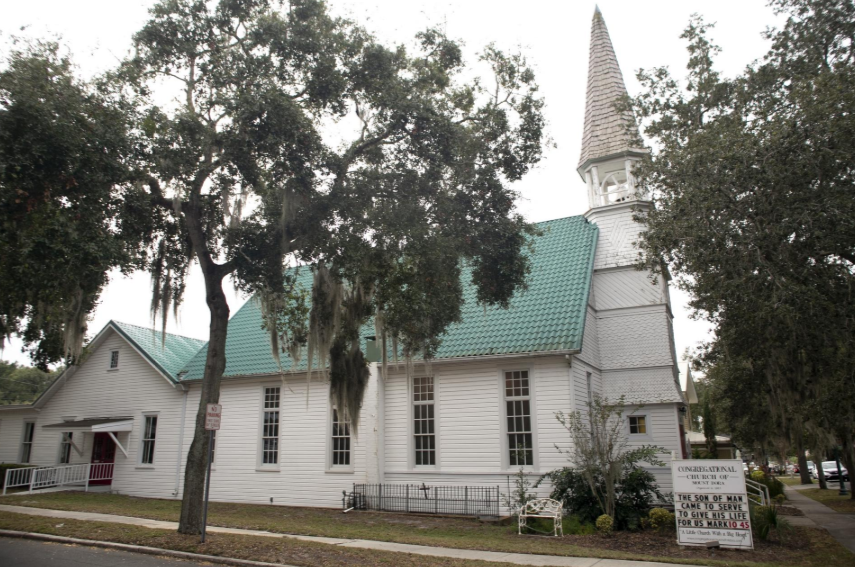 The Congregational Church of Mount Dora, 650 N. Donnelly Street, is raising money to repair the original bell tower and steeple that was built in 1886.