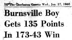 Newspaper Picture of Score