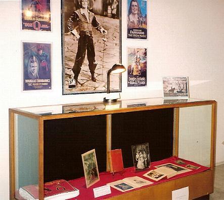 Inside the Douglas Fairbanks Museum