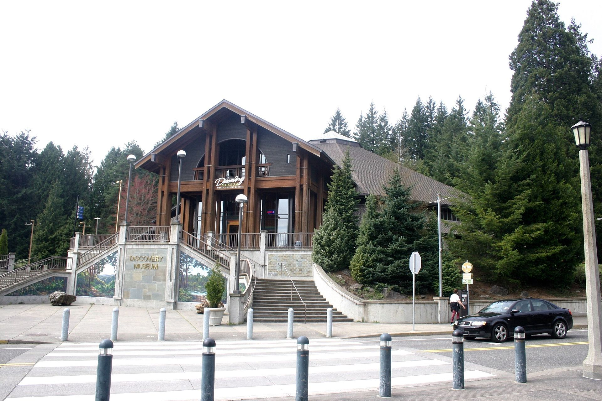 The World Forestry Center History was founded in 1966 and opened the museum building in 1971.