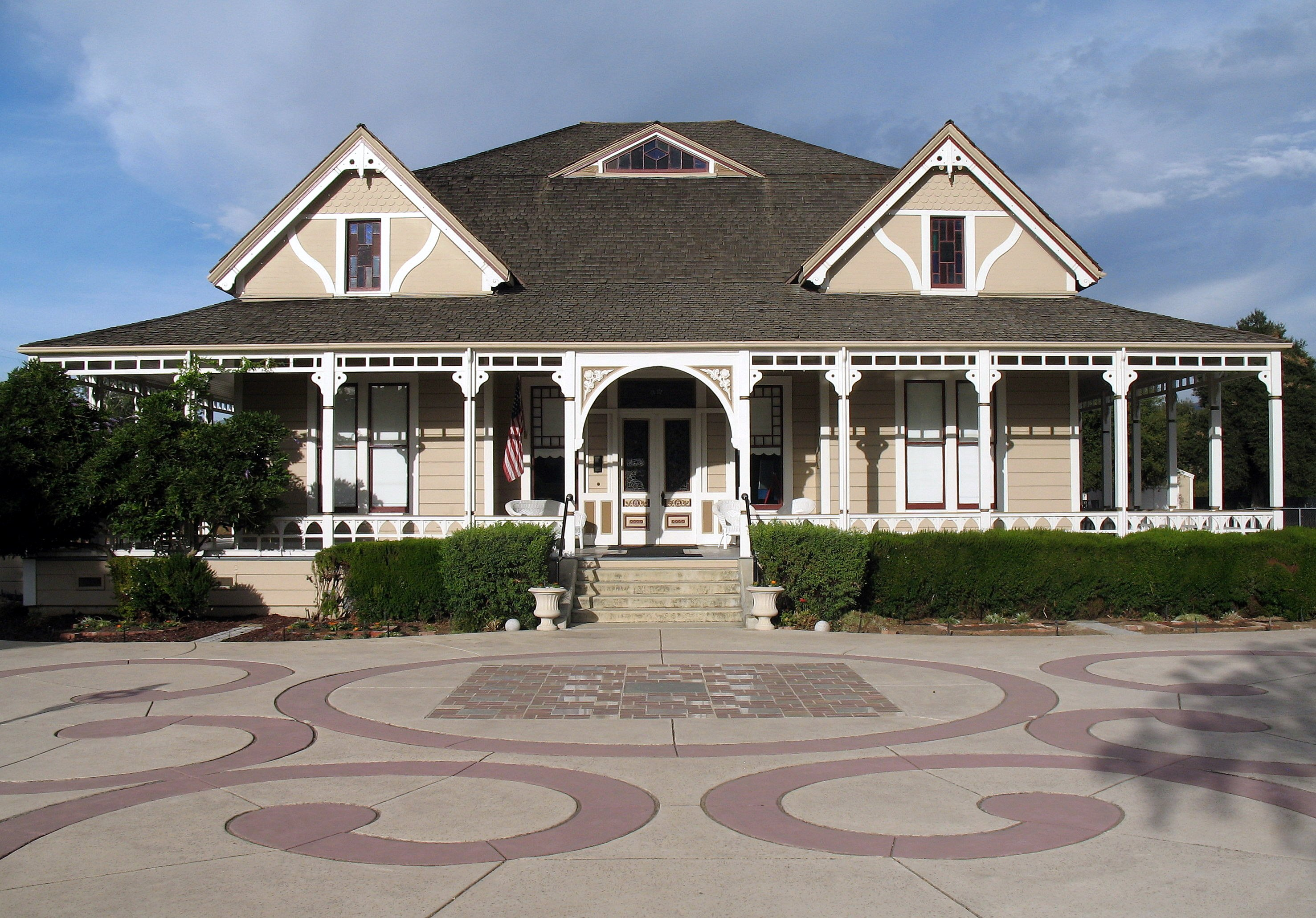 Taken 2012: Villa Mira Monte, 17860 Monterey St., Morgan Hill, California